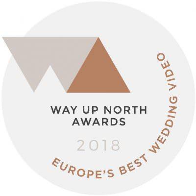 Award for Europe's Best Destination Wedding Videographer 2018