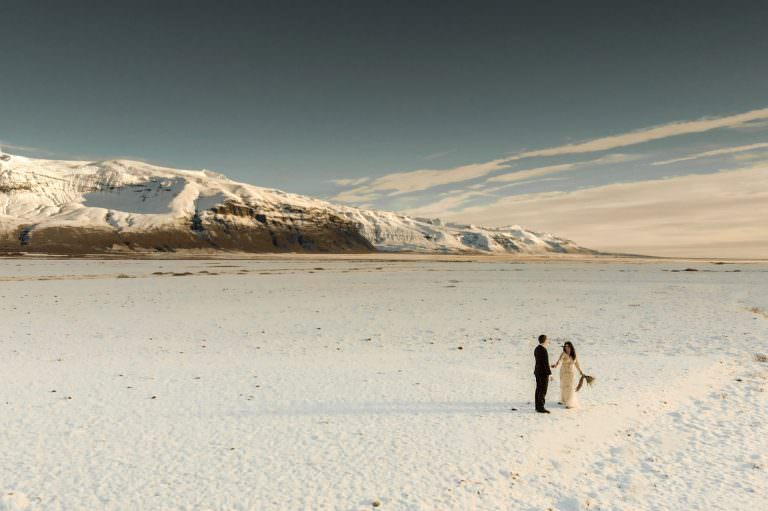 Elopement in Iceland filmed by wedding filmmaker Kostas Petsas