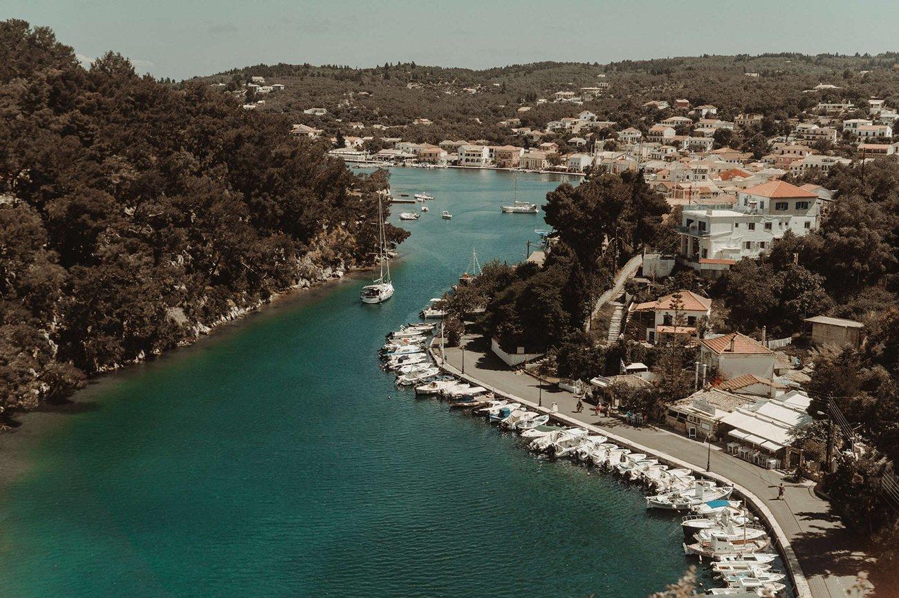 Breathtaking view of Paxos Island
