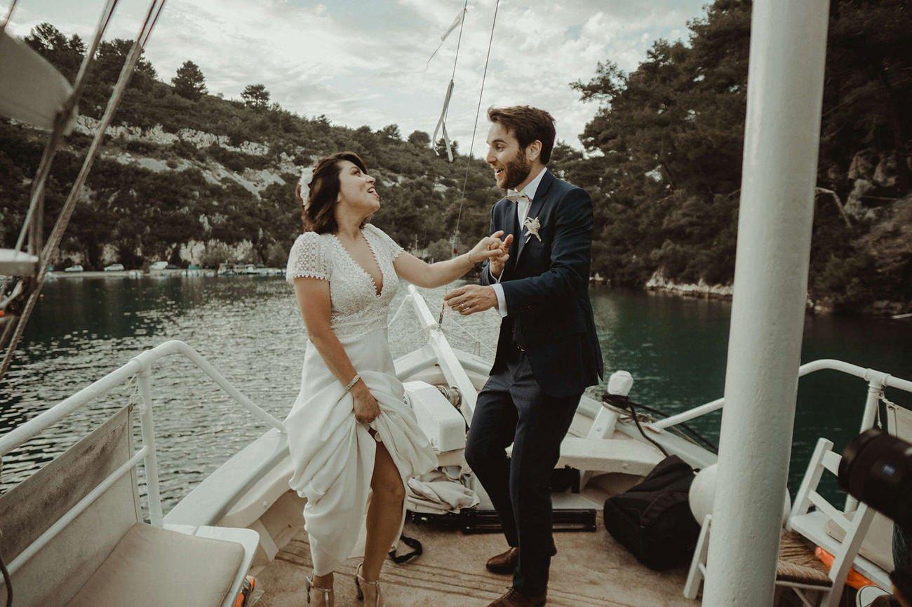 Paxos Wedding Videographer filming a Lebanese destination Wedding in Paxos