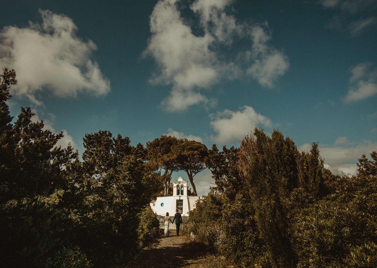 Paxos Wedding Videographer filming a destination Wedding in Paxos