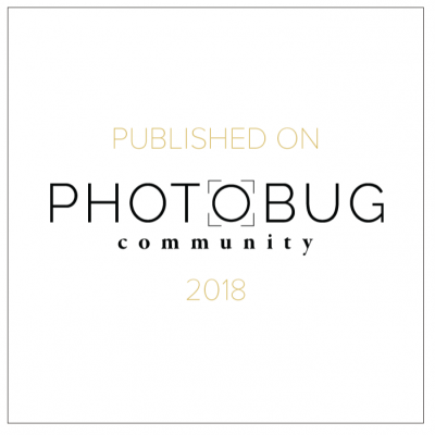 Badge for Being Featured in Photobug Community as a Destination Wedding Filmmaker