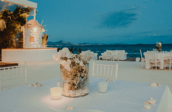 Exteriors of Amaltheia The Place Wedding Venue in Athens Greece