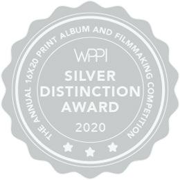 best wedding videographer silver distinction award wppi