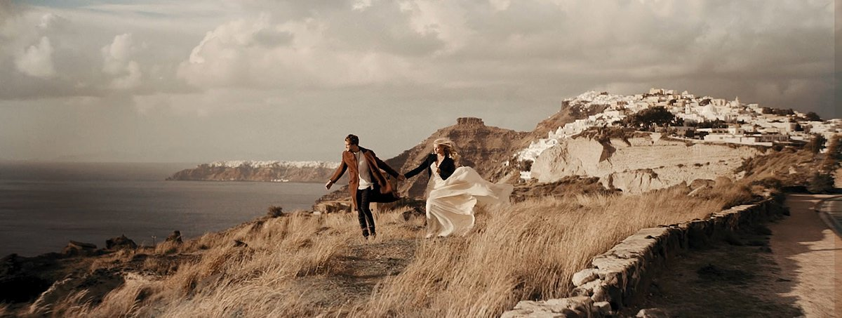 Santorini Adventurous Elopement in Fira