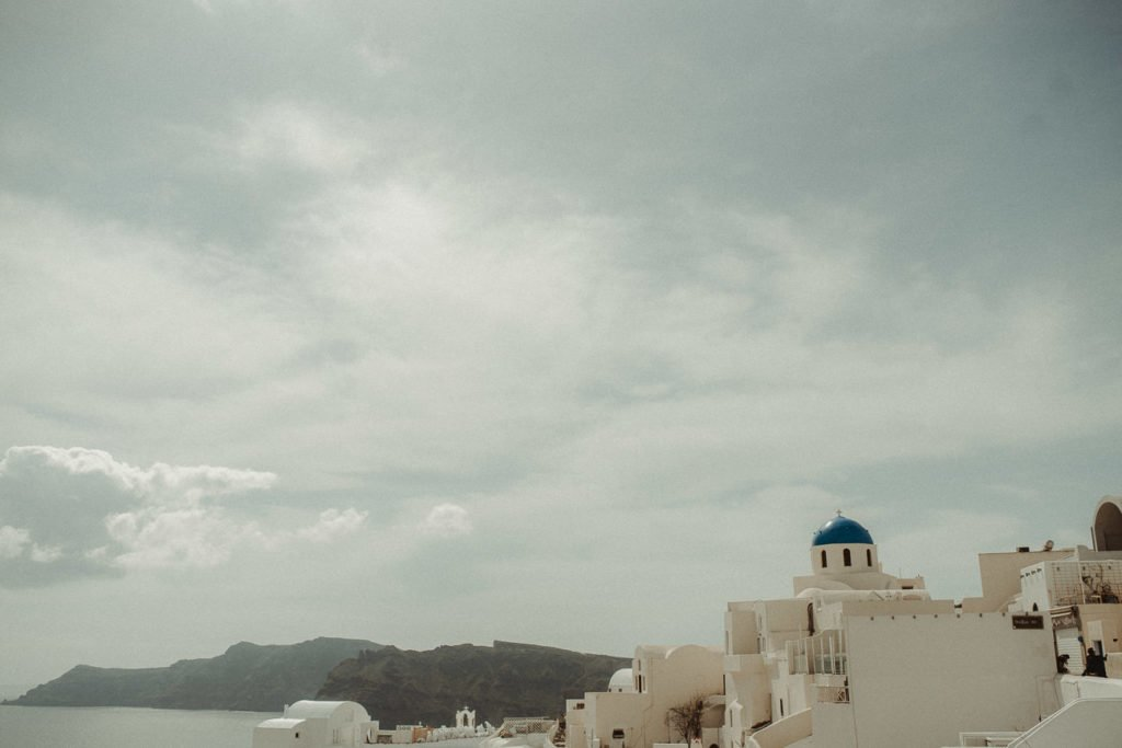 Best spot for pictures in Oia Santorini