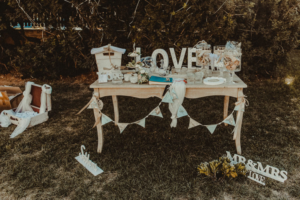 Vouliagmeni Lake Wedding Decoration