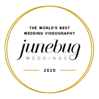 Best wedding videographer in Greece featured on junebug