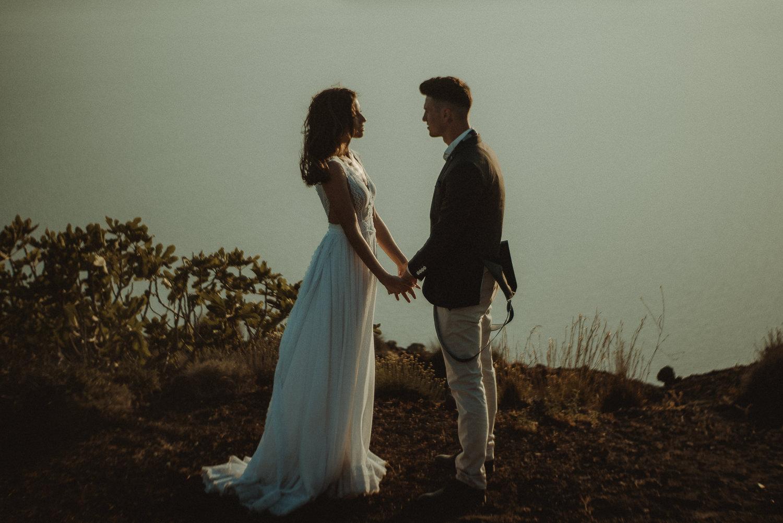 Ravello Wedding Videographer romantic couple