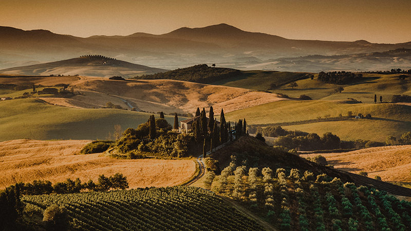 Breathtaking Tuscany view