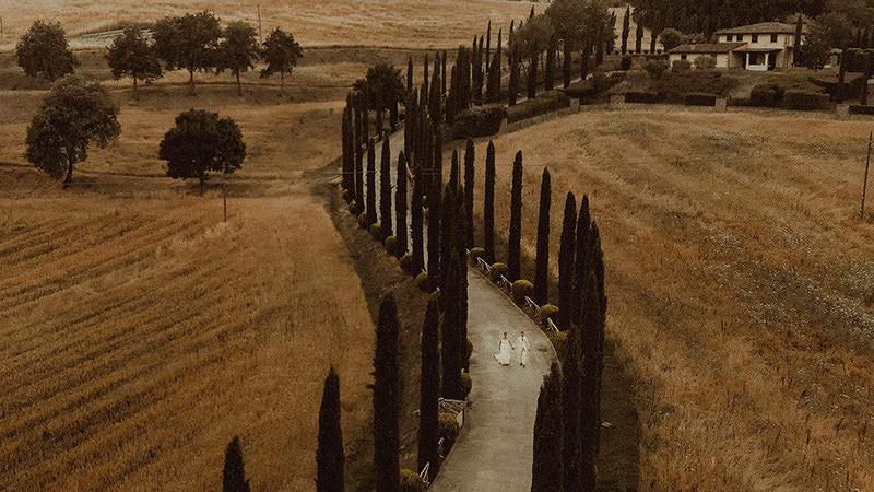 Tuscany Wedding Videographer