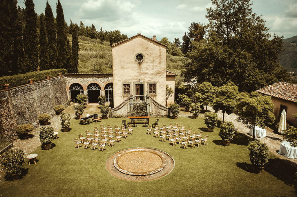 Best Wedding Venues in Tuscany Villa Catureglio