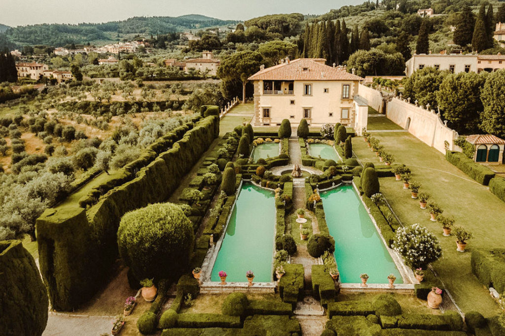 Best Wedding Venues in Tuscany Villa Gamberaia
