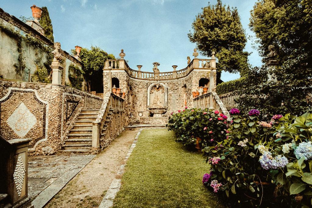 Villa Gamberaia internal garden detail