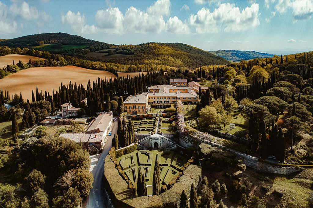 Best Wedding Venues in Tuscany Villa la Foce