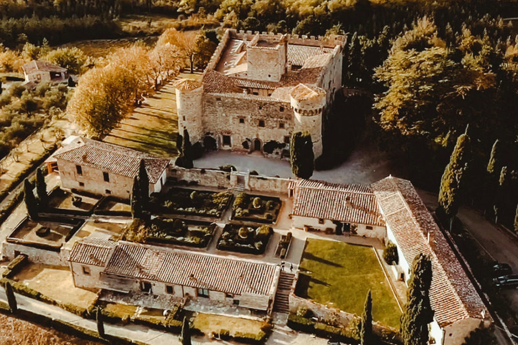 Best Wedding Venues in Tuscany Castello di Meleto