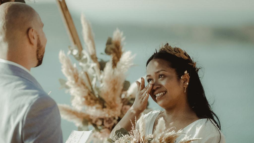 Elopement Wedding in Balos Lagoon Crete