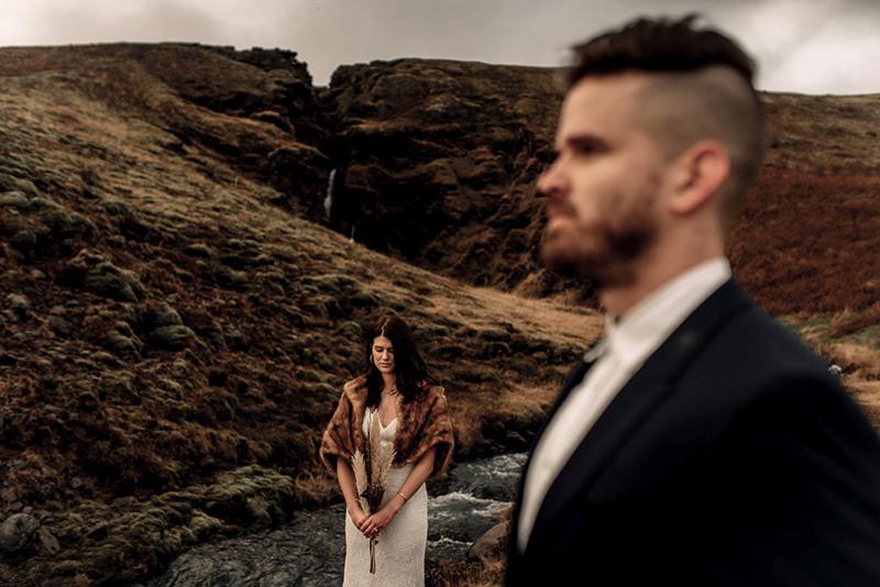 Best Isle of Skye Wedding Videographer moody elopement