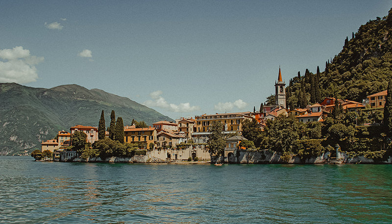 Cernobbio in Lake Como