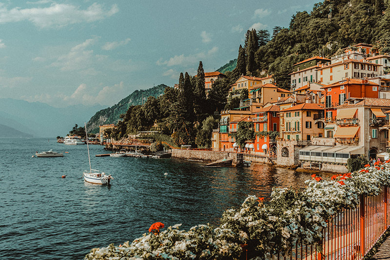 Varenna in Lake Como Italy