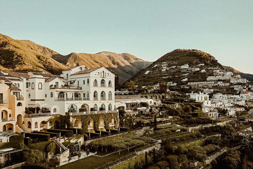 Best luxury wedding venues in Amalfi coast Belmond Hotel Caruso