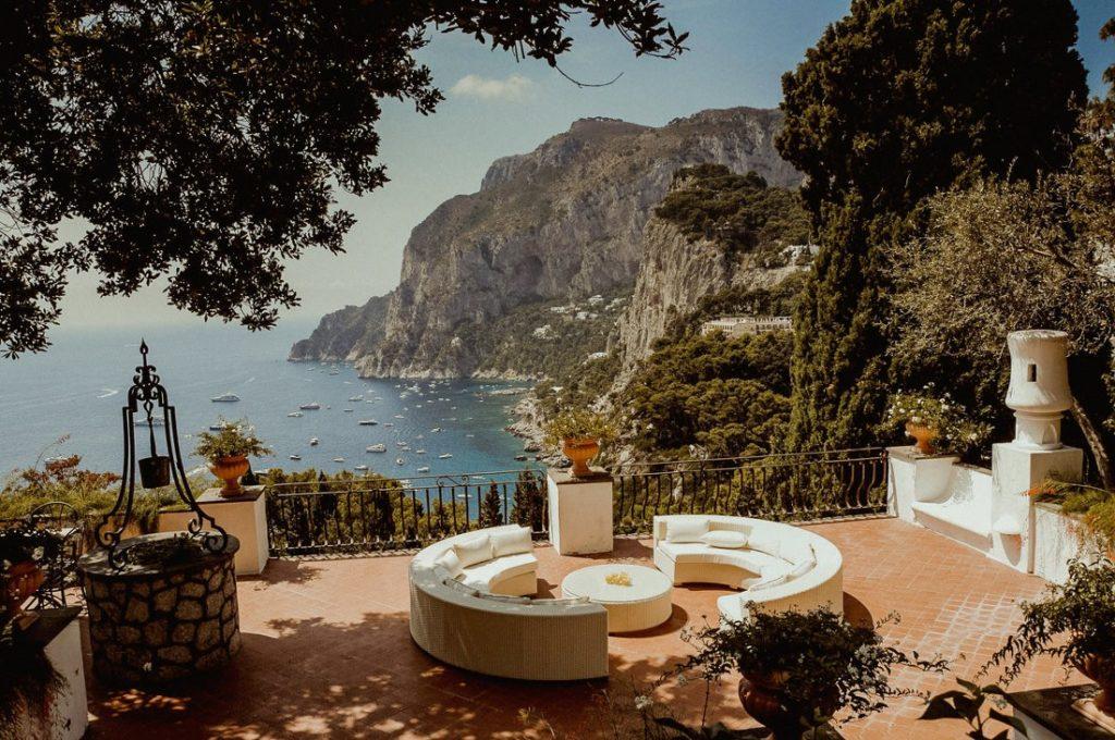 Best luxury wedding venues in Capri Augustus Gardens