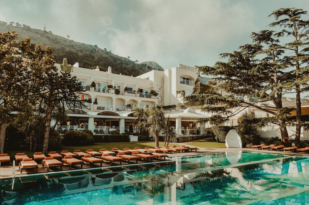 Best wedding venues in Anacapri Capri Palace
