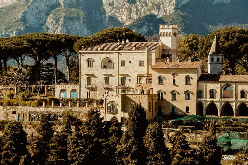 Best luxury wedding venues in Amalfi coast Villa Cimbrone
