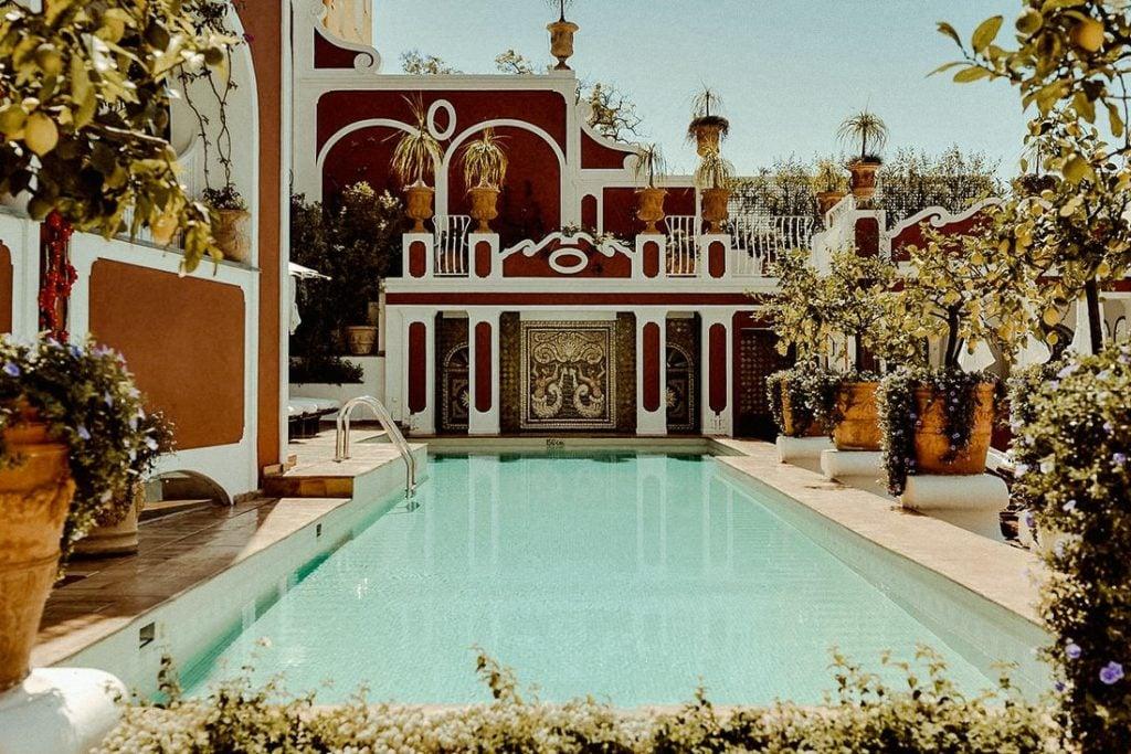 Best wedding venues in Positano Le Sirenuse