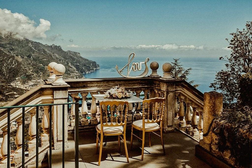 Best luxury wedding venues in Amalfi coast Palazzo Avino