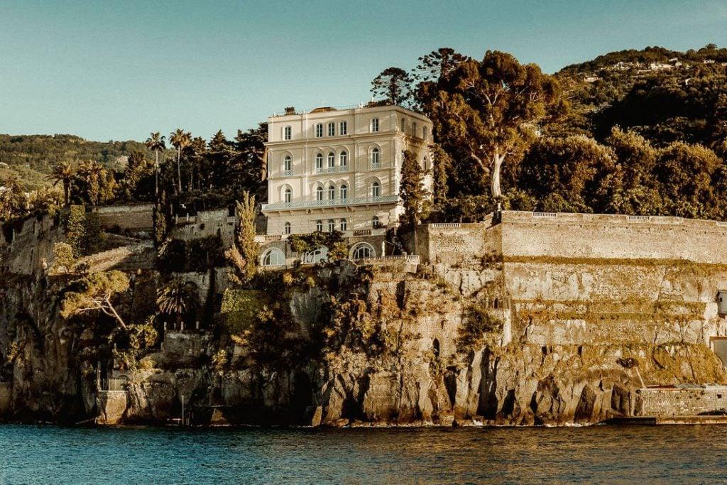 Best wedding venues in Sorrento Villa Astor