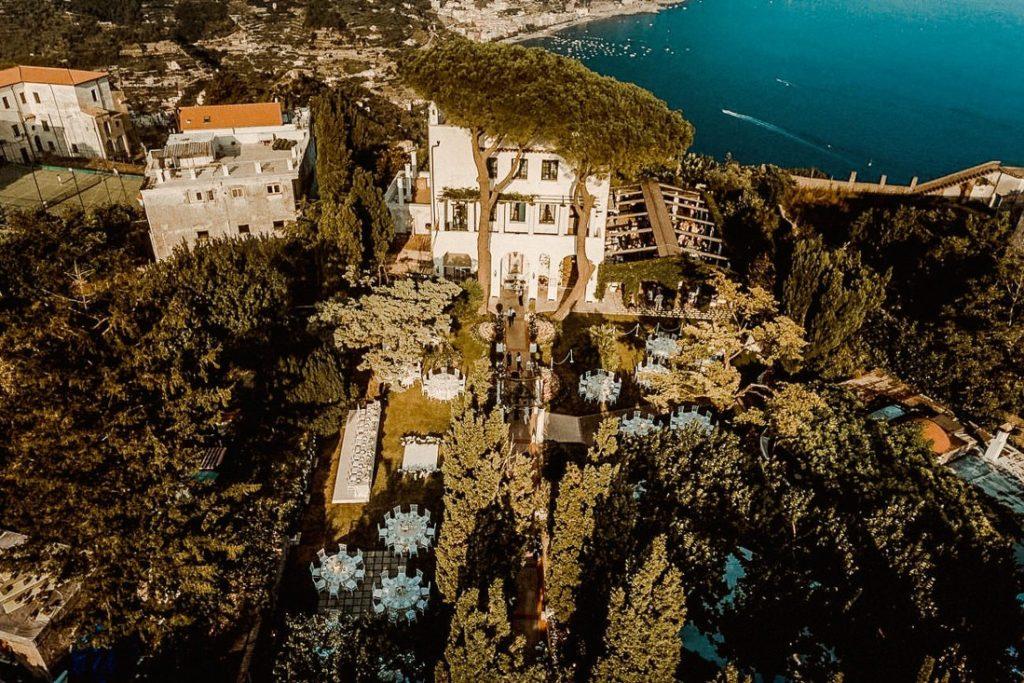 Best luxury wedding venues in Amalfi coast Villa Eva