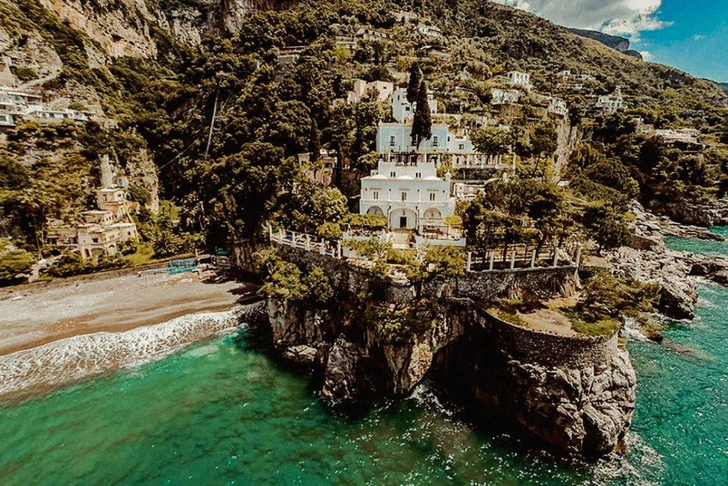Best luxury wedding venues in Amalfi coast Villa Treville