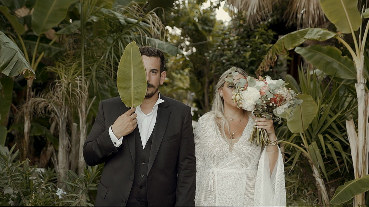 Video after applying Poetry LUTS for wedding films