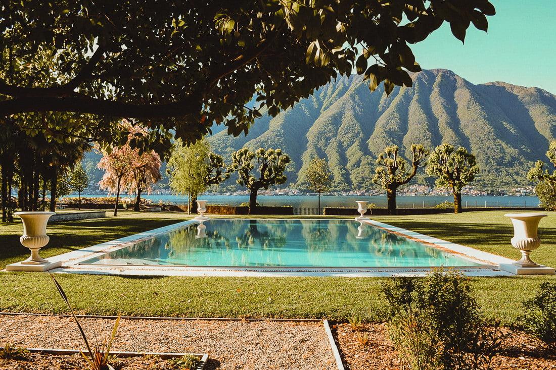 The gardens of Villa il Balbiano in Tremezzina
