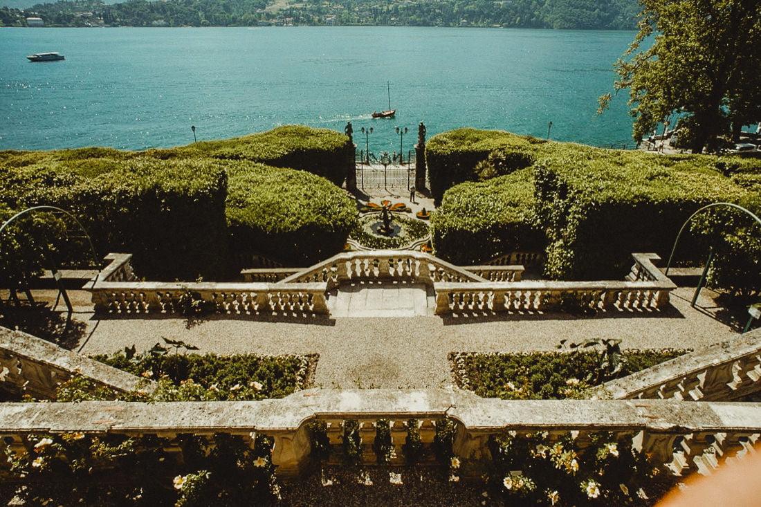 Impressive gardens of Villa Carlotta