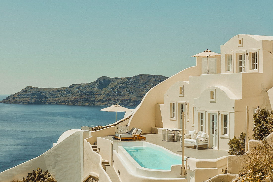 Stunning Canaves Oia one of the Best places to get married in Santorini Oia