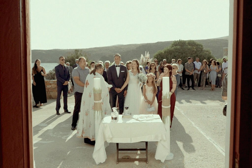 Kythnos wedding in Kanala