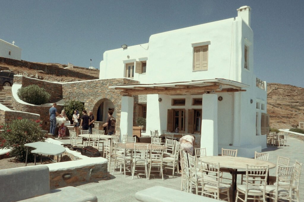 Private Villa Kythnos Wedding preps