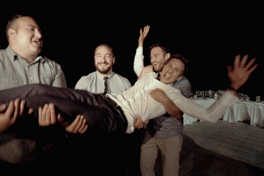 Wedding party in private Villa Kythnos