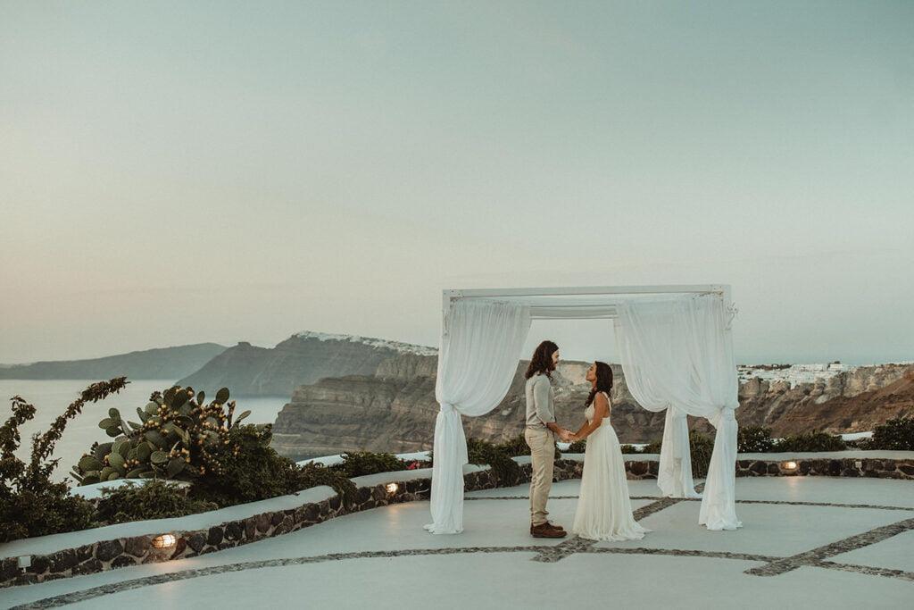 Venetsanos Winnerey is one of the top wedding venues in Megalochori Santorini
